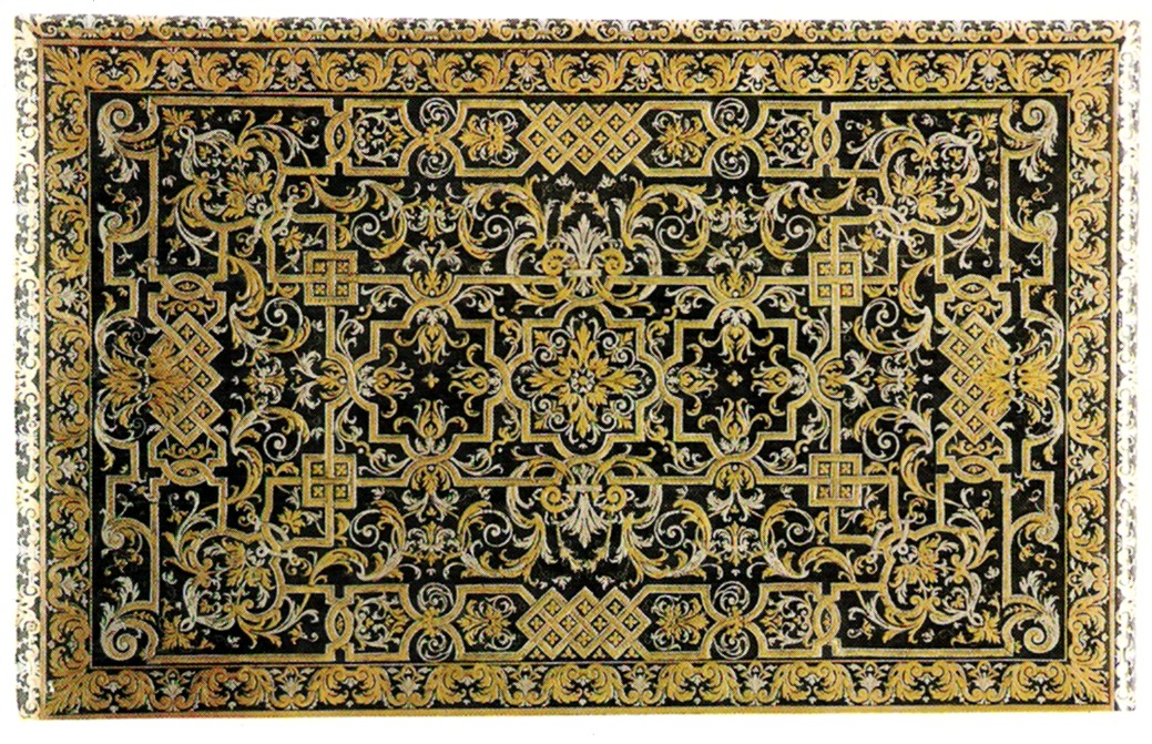 This early Boulle work was restored in over 600 hours. It was exposed at  the